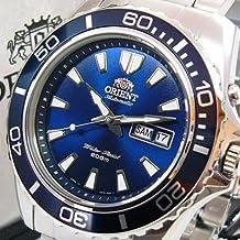 Orient Deep - Reloj de buceo con correa de acero