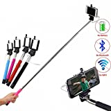 #7: Shopizone Big Extendable AUX cable Selfie Stick for Photo Video with AUX Cable for Samsung On5 On7 pro, Lenovo Zuk Z1, Oneplus 3, Redmi Note 3, LG, HTC, Lenovo Vibe K5, Le 2, Apple, Micromax, Lava, Karbon, Vivo, Oppo, Oneplus, Max, Xiaomi, Coolpad Phones