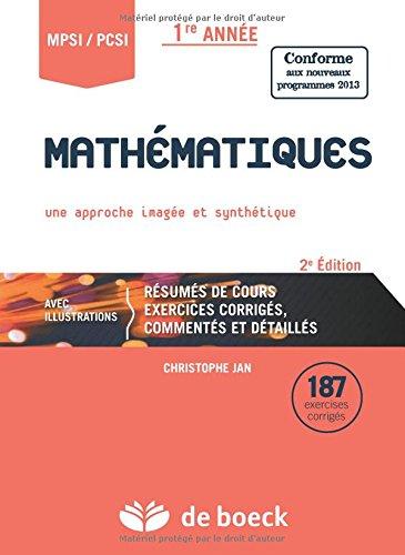 Mathématiques : Une approche imagée et synthétique