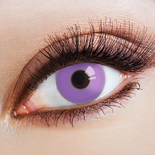 aricona Farblinsen farbige Kontaktlinsen lila farbig zum Manga Cosplay (Kostüme Nefera Nile De)