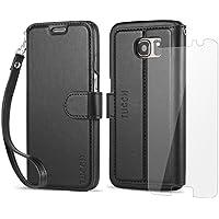 Custodia Samsung Galaxy S7,TUCCH Custodia in Pelle,[Carta Fessura] [Flip Stand]