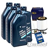 Ölwechsel Set Ölwechsel Kit 5x 1L OE BMW Twin Power 5W30 LL 04 1x Ölfilter 1x Ölablassschraube 1x Ölwechselanhänger