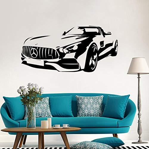 Silverstone F1 MOTO GP Racing Boy Schlafzimmer Spielzeug Wohnzimmer Cool Art Deco Vinyl Wandaufkleber Aufkleber 57x32cm (Gp-birne)