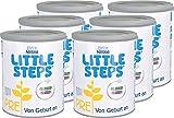 Nestlé LITTLE STEPS PRE, Anfangsmilch, Pulver, von Geburt an, 6er Pack (6x800g)