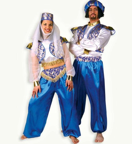 Kostüm Turban Sultan - FRIES NEU Herren-Kostüm Sultan mit Turban, 3-TLG. Gr. L