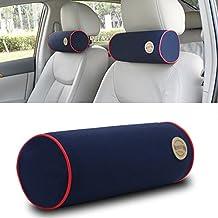 KLXEB Appoggiatesta Interni Di Automobili Auto Estate Poggiatesta Auto Cuscino Collo, Memory Foam Cuscino Testa 3D Auto,Blu