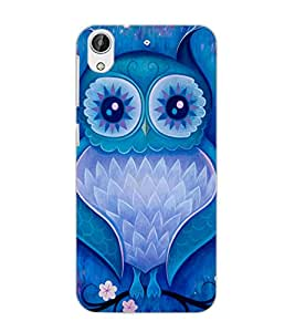HTC DESIRE 626 OWL Back Cover by PRINTSWAG