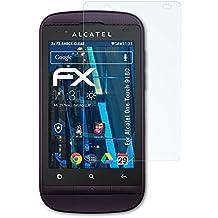 Alcatel One Touch 918D Folie - 3 x atFoliX FX-Shock-Clear stoßabsorbierende ultraklare Panzerfolie Displayschutzfolie