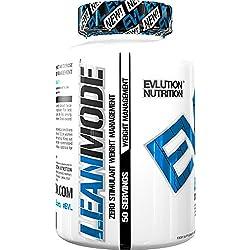 Evlution Nutrition Lean Mode Nahrungsergänzungsmittel für Abnehmen (50 Portionen)| Fettverbrenner Kapseln mit naturreinen Extrakten (50 Portionen)