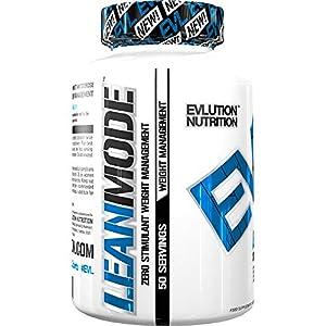 Evlution Nutrition Lean Mode Nahrungsergänzungsmittel für Abnehmen (50 Portionen)  Fettverbrenner Kapseln mit naturreinen Extrakten