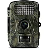 Aoleca 12MP 1080P HD Infrared Game&Trail Camera 42 Pcs IR LEDs 120° Wide Angle Night Vision 2.4