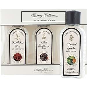 Ashleigh & Burwood Lot de 3parfums pour lampe à brûleur de parfum 180ml