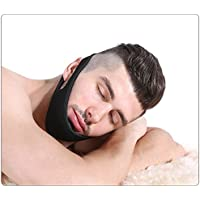 Sborter Anti Snoring Chin Strap, Stop Snoring Solution for Better Sleep, Stop Snoring Jaw Belt, Snore Relief Device for Mouth Breathers, Fully Adjustable with Velcro