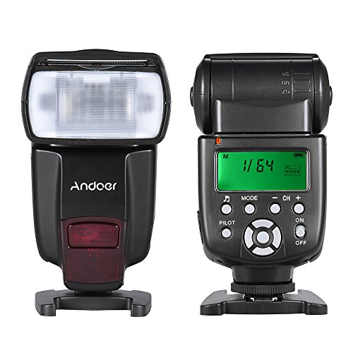 Andoer-AD560-IV-24G-Wireless-On-camera-Slave-Speedlite-Flash-Light-GN50-con-LCD-Display-Per-Canon-Nikon-Olympus-Pentax-e-Sony-A7-A7-II-A7S-A7R-A7S-II-DSLR
