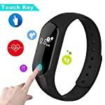 Fitness Tracker Parsion Activity Tracker With Heart Rate Monitor Smart Wristband Sports BraceletStep PedometerSleep MonitorCall ReminderAlarm Clock Bluetooth 40 Smartwatch For Android And IOS