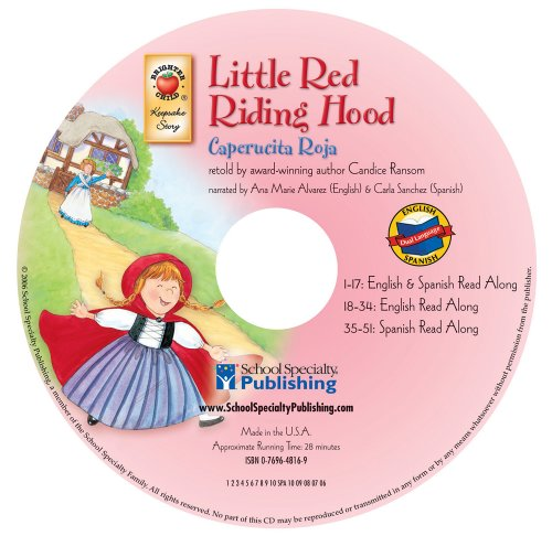 Little Red Riding Hood (English-Spanish Brighter Child Keepsake Stories Audio CDs) Gingham Red Riding Hood