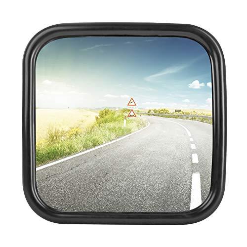 1x LKW, Transporter oder Bus Spiegel universal 18 x 18 cm Größe mit flexibler Halterung