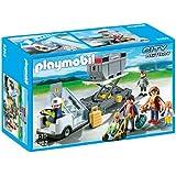 Playmobil - Escaleras de avión con pasajeros y mercancías (5262)