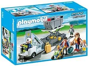 Playmobil - 5262 - Jeu de Construction - Passerelle d'embarquement avec Passagers