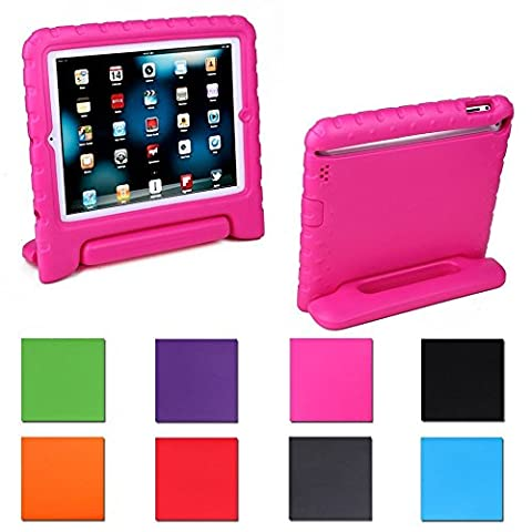 Aken Multi Function Child / Shock Proof Kids Cover Case with Stand / Handle for Apple iPad 2nd / 3rd / 4th Generation Tablet (iPad