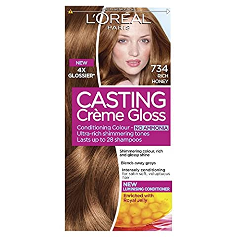 Casting Creme Gloss 734 Rich Honey Blonde Semi Permanent Hair