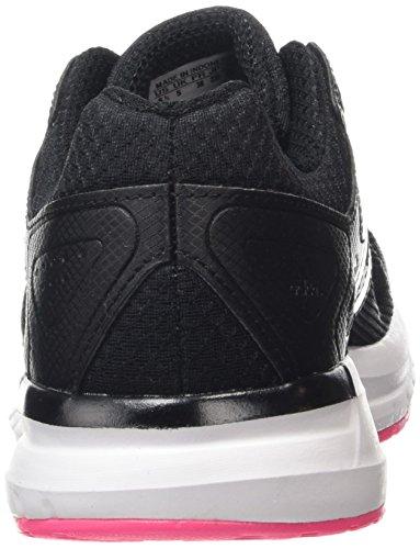adidas Duramo Elite W, pantoufle femme Core Black/Ftwr Blanc/Solar Pink