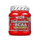 Amix Nutrition - Glutamine + BCAAs 530gr en polvo (Naranja)