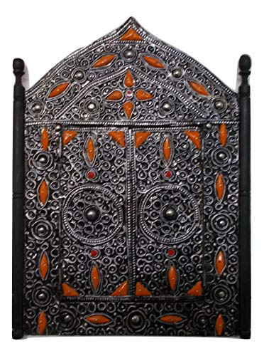 Specchio Cornice Mosaico Ante Marocco Marocchino Etnico Orientale Hand Made 0611181027