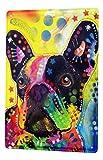 LEotiE SINCE 2004 Blechschild Hunde Rasse Französische Bulldogge