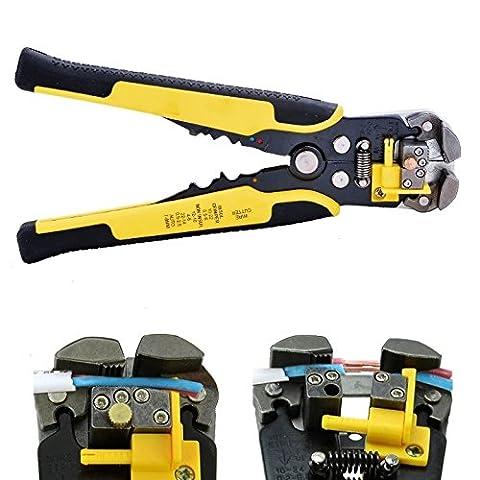 Fil de Caxmtu striper Cutter professionnel automatique Stripper Pince à sertir Pince Outil terminal