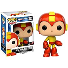 Funko Pop Games Mega Man Fire Storm Exclusive Variant Vinyl Figure by Megaman