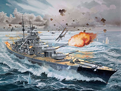 Revell 05040 – Battleship Bismarck - 17