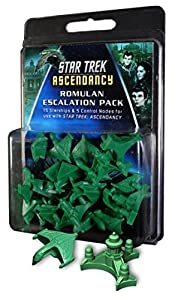 Gale Force Nine GF9ST013 Star Trek: Ascendancy Romulan Ship Pack - Juego de Cartas Importado de Alemania