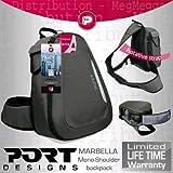 Port Designs Marbella léger pour appareil photo SLR/DSLR pour un accès facile-Sac à dos Compact pivotant pour une utilisation avec toutes les marques dont :  Panasonic, Canon, Nikon, Fujifilm, Sony, Olympus, Samsung & GE)