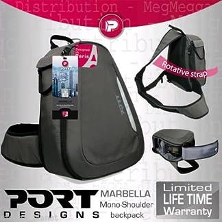 51XtXRPFrOL. SS324  - Port Designs Marbella ligero SLR/DSLR cámara + lente Kit giratorio de fácil acceso COMPACTA mochila (para uso con todas las marcas incluye: Canon, Panasonic, Nikon, Fujifilm, Sony, GE, Samsung y Olympus)