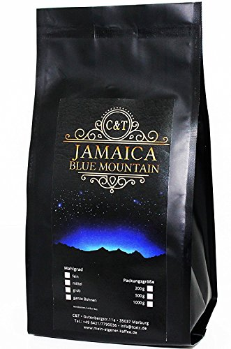 Jamaica Blue Mountain AA 500 g ganze Bohnen (Ganze Bohne Kaffee Blue Mountain)