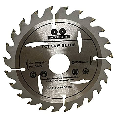 Top Quality Saw Blade for ANGLE GRINDER 115mm for Wood Cutting discs Circular 115mm x 22mm x 24 Teeth