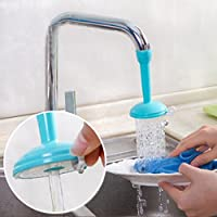 Prevently Water Saving Kitchen Tap Aerator, Swivel With Adjustable Nozzle Filter Sprayer Spout Kitchen Faucet Accessories