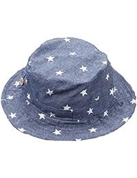 145531890 Leisial Sombrero Pescador Para Bebé Niños Algodón de Protectora del Sol  Gorro de Alas Anchas Proteger
