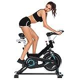 Profun Vélo d'Appartement à l'Intérieur Vélo Fitness Sport avec Résistance Ajustable Écran LCD, Vélo...