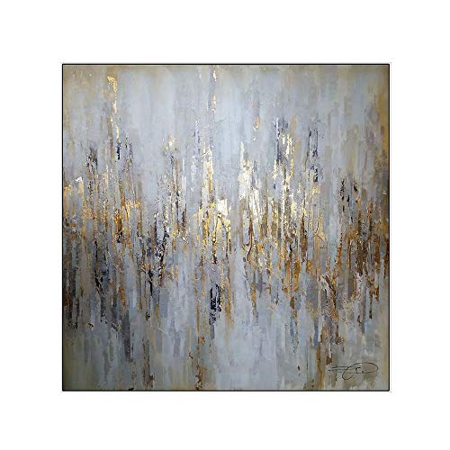 Pintura Al óLeo Pintada A Mano Cuadros Abstractos