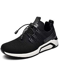 QLVY Sport Schuhe Herren Fußball Schuhe Gebrochene Nägel Flaches Bodenlicht und Komfortabel Weiß 38 WjdN1a2iJ6