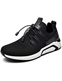 QLVY Sport Schuhe Herren Fußball Schuhe Gebrochene Nägel Flaches Bodenlicht und Komfortabel Weiß 38
