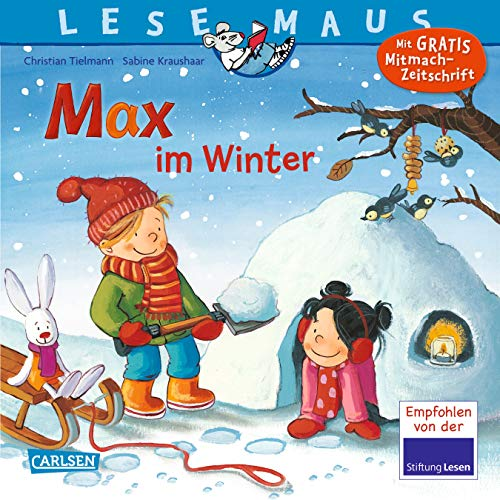 LESEMAUS 63: Max im Winter (63)