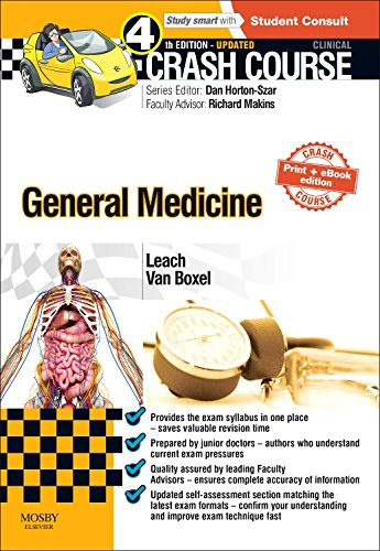 Crash Course General Medicine Updated Print + eBook edition, 4e