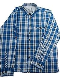 Original Lekra Trachtenhemd Kuno für Kinder, kariert , aus 100% Baumwolle pflegeleicht in verschiedenen Varianten