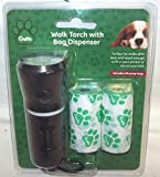 Crufts PMS Walk LED Torcia con Doggy Bag Holder + ricambi