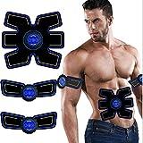 Hlidpu Smart Fitness Meter Aufladen Bauchfaul Fitness Geräte Home Abdominsticker Bauch Instrument