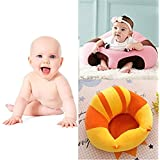 Babies Bloom Baby Nursery Chair For Babies/Kids (Yellow And Orange Stripe) (6-24 Months)