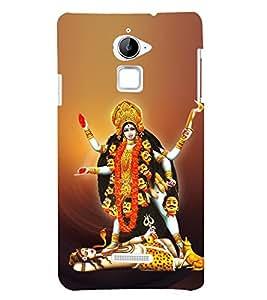 Kali Bhajan Maa Kali 3D Hard Polycarbonate Designer Back Case Cover for Coolpad Note 3 Lite